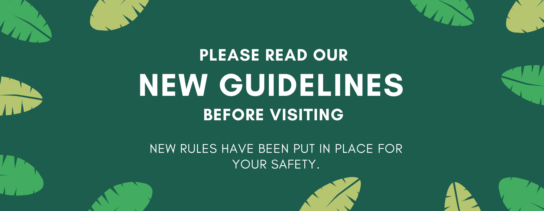 New guidelines PNG